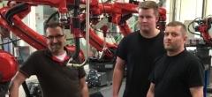 Kommende robotspecialister på studietur til Holland