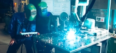 Nye kurser i robotsvejsning hos TECHCOLLEGE