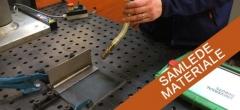 Samlet materiale – svejsning med fleksibel svejserobot