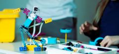 Robot Sumo med LEGO Spike