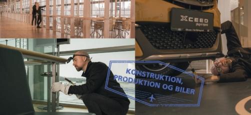 8. klasser spiller robotbingo til virtuel brobygning på TECHCOLLEGE