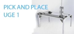Pick and place-enhed uge 1 – Forberedelse af dele til samling