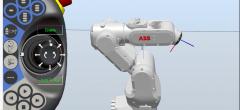 ABB Robot studio – Video 6 – Bevæg robotten manuelt
