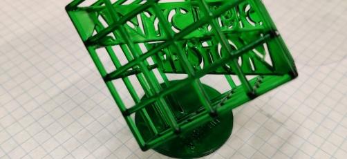 Ny 3D-printer i Videnscentret for automation og robotteknologi