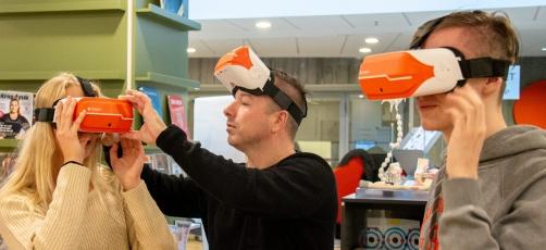 Spot på en skole: Virtual reality på SOSU Randers