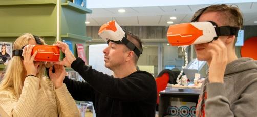 SOSU Randers: Virtual reality skal give merværdi til undervisningen
