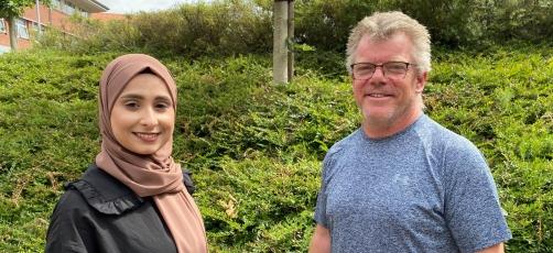 Nye ansigter i CIU! Hils på Amina og Bjarne