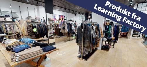 Den virtuelle dametøjsbutik: Undervisning med et 360°-miljø