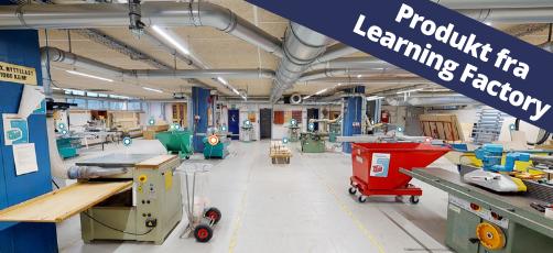 Det virtuelle snedkerværksted: Undervisning med et 360°-miljø