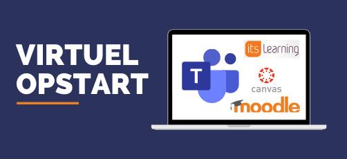 Flowchart til ledere: Virtuel opstart af elever på et LMS