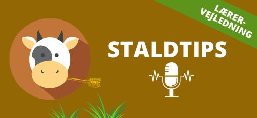 Lærervejledning til podcasten: Staldtips