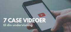 7 case videoer med Bog & idé + arbejdsspørgsmål