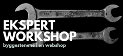 Ekspert Workshop: Byggestenene i en webshop
