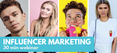 Influencer Marketing – se eller gense webinar