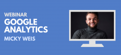 20. august – Webinar om Google Analytics