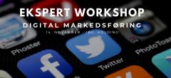 Ekspert workshop – Digital markedsføring (Kolding)