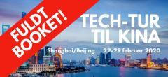 Studietur: Tech-tur til Shanghai & Beijing – FULDT BOOKET