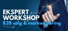 Ekspert workshop: B2B salg og markedsføring
