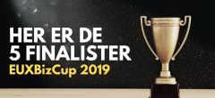 Her er finalisterne til dette års EUXBizCup finale!
