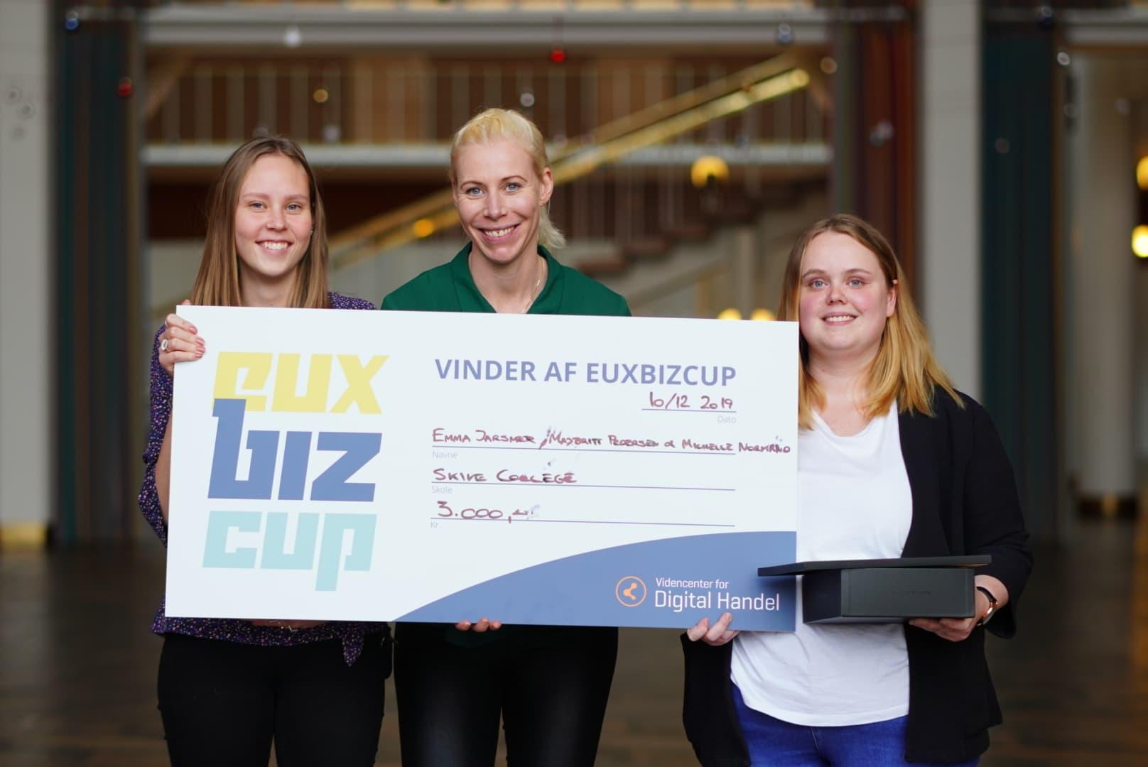 Årets vinder af EUXBizCup 2019