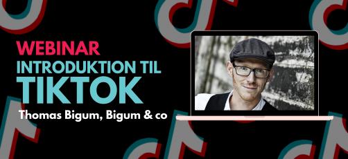 Webinar – Introduktion til TikTok