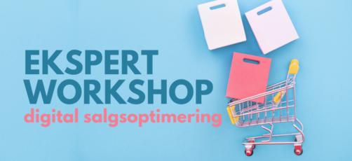 Ekspert workshop: Digital salgsoptimering