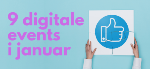 9 digitale arrangementer i januar