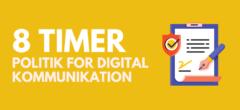 Politik for digital kommunikation – Hovedforløb Kontor