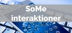 Sociale medier (SoMe) interaktioner