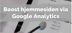 Google Analytics | Hovedforløb: Detail