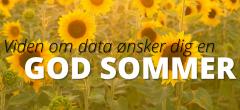Hav en god og databaseret sommer!