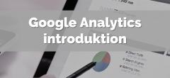 Google Analytics introduktion