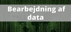 Dataforståelse – Bearbejdning af data