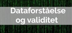 Dataforståelse – Hovedforløb: Kontor med specialer, almen og offentlig adm.