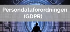 Persondataforordningen (GDPR)   Hovedforløb: Kontor, offentlig adm.