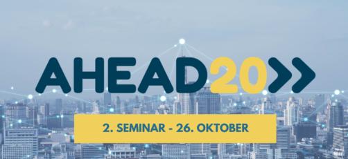 AHEAD20 – 2. online seminar