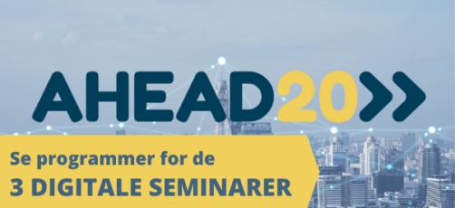 Alle AHEAD20 seminarer offentliggjort – Se datoer og programmer her!