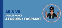 AR & VR: Samlet pakke med forløb