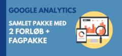 Google Analytics | Samlet pakke med forløb