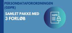 Persondataforordningen (GDPR) | Samlet pakke med forløb