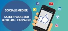 Sociale medier | Samlet pakke med forløb
