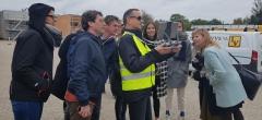 Besøg af den flamske regering i Belgien