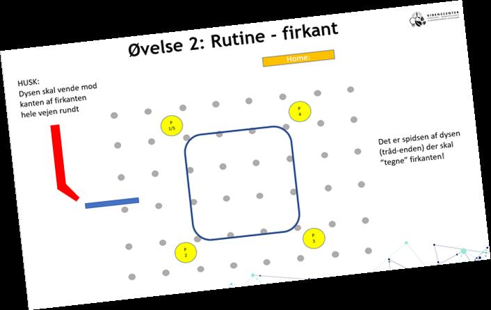 Rutine - firkant