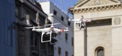 Droneflyvning i bymæssigt område