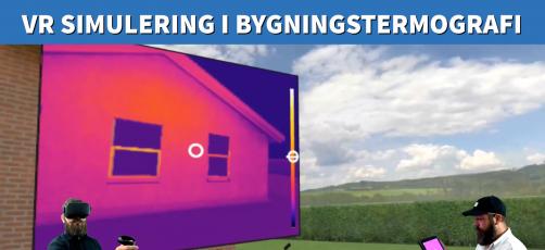 Virtuel simulering i bygningstermografi virker