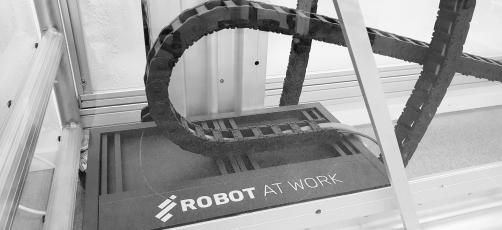 Sig hej til vores nye robot