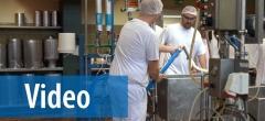 Video om mejeriets nye udstyr