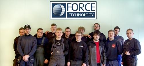 Smedehold besøger Force Technology