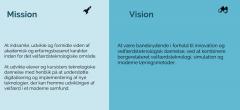 Fra Vision & Mission til handling