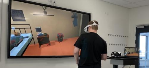 TORSDAGSPANELET DRØFTER: praksisnære scenarier i VR